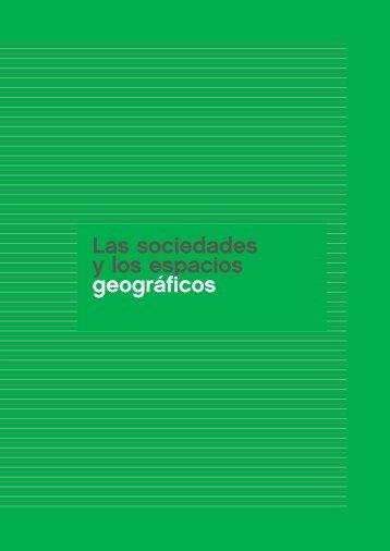Las sociedades y los espacios geográficos - Aprender en casa ...
