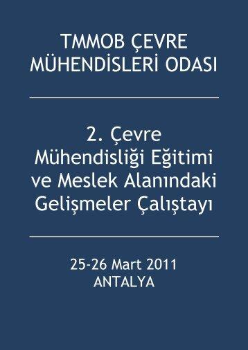 TMMOB ÇEVRE MÜHENDİSLERİ ODASI 2. Çevre Mühendisliği ...