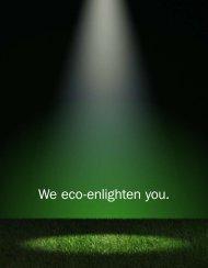 We eco-enlighten you. - Aura Light
