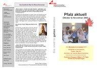 Pfalz aktuell - Caritas SeniorenHaus Schönenberg-Kübelberg