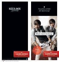 Black Jack X-change Tauschen erhöht die Spannung!