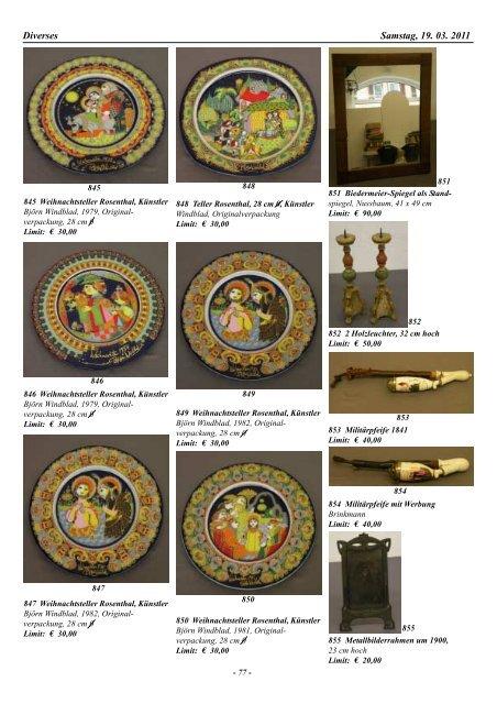 40. Auktion Auktionsvorschau