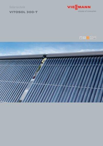 Solartechnik VITOSOL 300-T