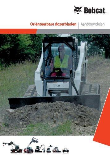 Specificaties Blad aanbouwdeel - Bobcat.eu
