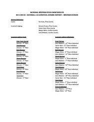 national 4-h livestock judging contest – western division