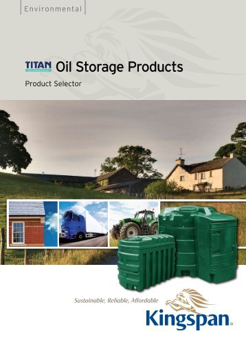 Oil Storage Products - BHL.co.uk