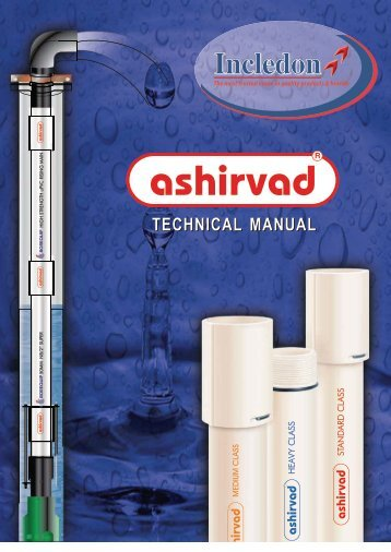 Ashirvad Pump PVC Columns Technical Manual - Incledon