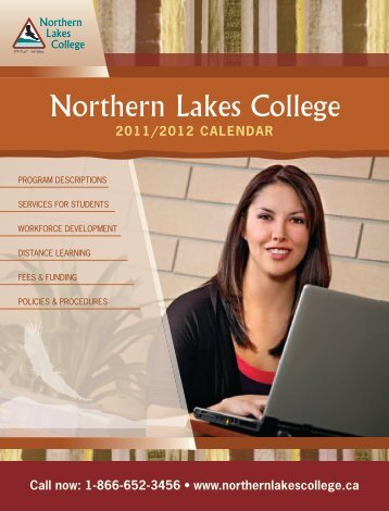 2011/2012 calendar - Northern Lakes College