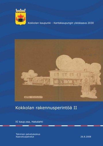 XI kaup.osa, Hakalahti - Kokkola