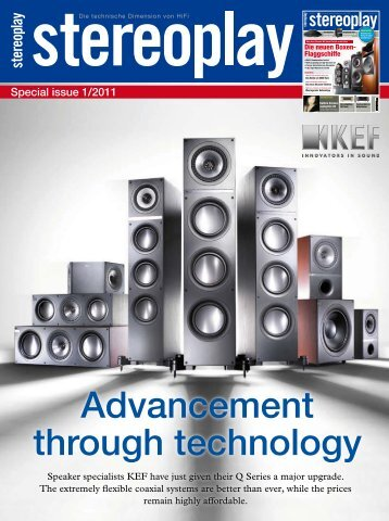 Advancement through technology - Audio Cinema Art
