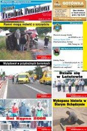Dni Kępna 2008 - Tygodnik powiatowy