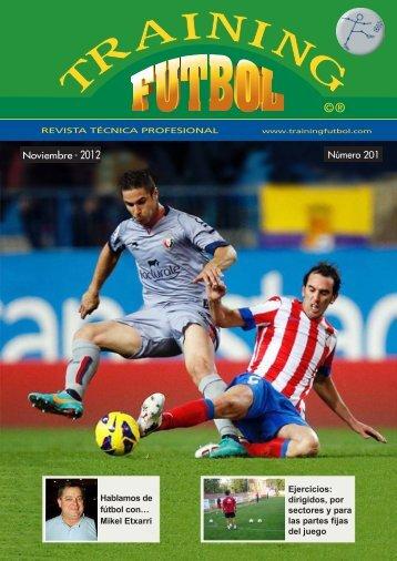 Training futbol Jugador nº12