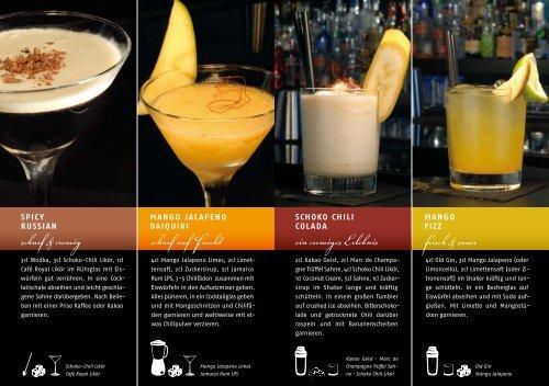 unserem Cocktailbuch - Amphore oHG