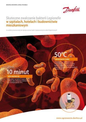 Skuteczne zwalczanie bakterii Legionella w szpitalach ... - Danfoss