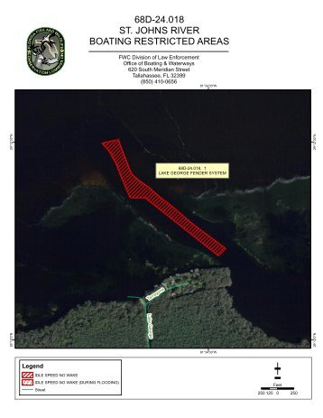 68D-24.018 ST. JOHNS RIVER BOATING RESTRICTED AREAS