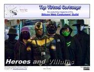 3.0 MB - Silicon Web Costumers' Guild