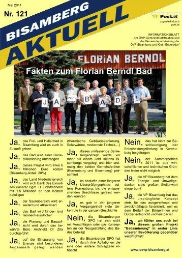 Fakten zum Florian Berndl Bad - Bisamberg