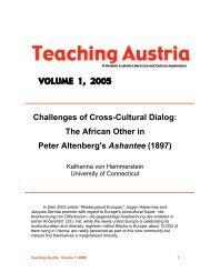PDF (16.4 MB) - Austrian Studies Association