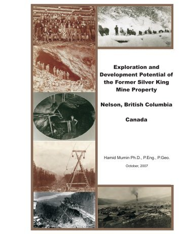 The Silver King Project - Excalibur Resources Ltd.