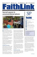 Read the complete issue - Saint Paul Area Synod