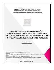 manual especial de integración y funcionamiento del subcomité ...