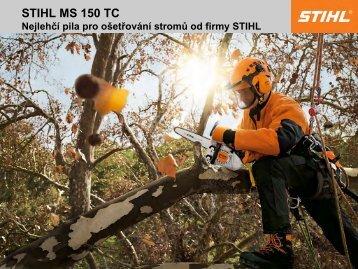 STIHL MS 150 TC - Gardenia.cz