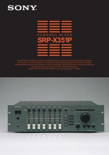 SRP-X351P - Acuson