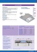 Buprofile.de - Buchberger Profilsysteme - Ablaufrinnen Entwässerungsrinnen Ablaufkörper - Seite 3