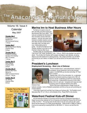May 2007 Anacortes Communicator