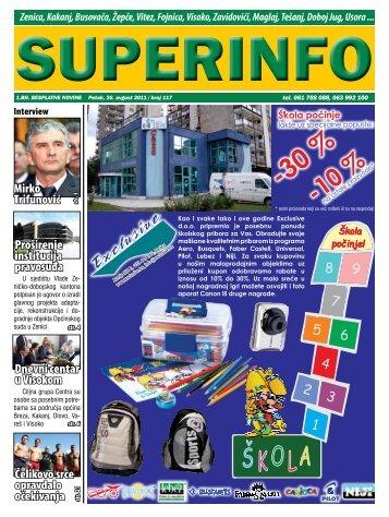 Zenica - Superinfo