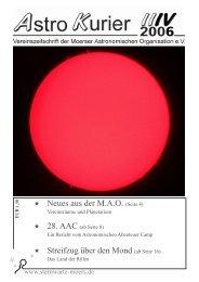 Streifzug über den Mond (ab Seite 16) - Moerser Astronomische ...