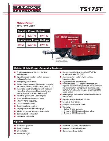 TS175T - Phase-A-Matic, Inc.