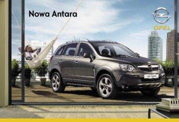 katalog Opla Antary - Opel Dixi-Car
