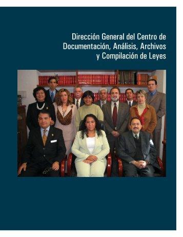 Dirección General del Centro de Documentación, Análisis, Archivos ...