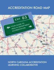 ACCREDITATION ROAD MAP - UNC School of Public Health