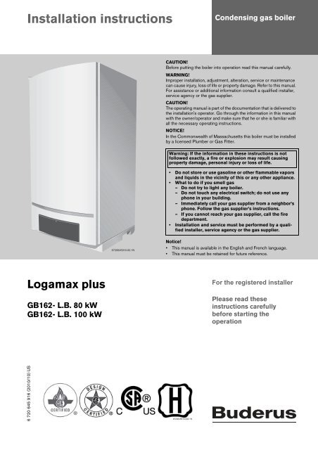 Outstanding Newly Revised Boiler Manual Buderus Gb Heating Help Wiring Digital Resources Honesemecshebarightsorg