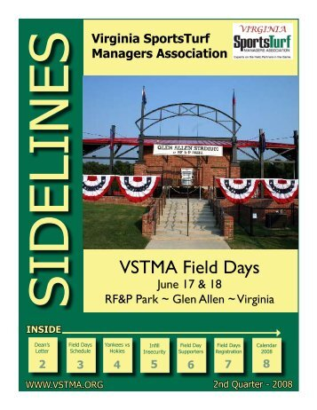 VSTMA Field Days - Virginia Sports Turf Managers Association