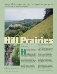 Hill Prairies - Illinois DNR