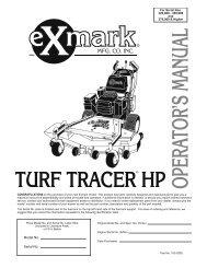Exmark 1-543359 Blade Fan Turf Tracer Ranger