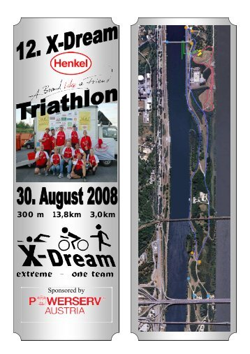 300 m 13,8km 3,0km - beim Free Eagle Fun Racing Team