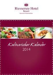 Kulinarischer Kalender 2014