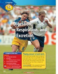 Digestion, Respiration, and Excretion - McGraw-Hill Higher Education