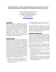 development of a simulation-based decision support tool - Energy ...