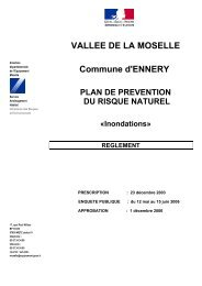 15 Plan de Prévention des Risques Naturels - Inondations - Ennery
