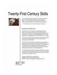 Twenty-First Century Skills