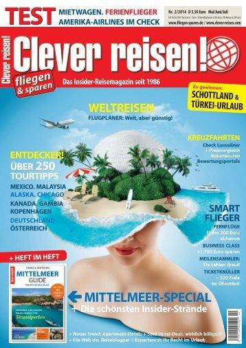 Clever reisen! Ausgabe 2/14