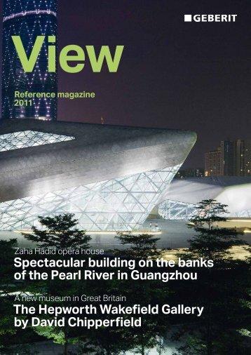 View – Reference magazine 2012 - Geberit