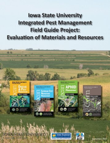 Iowa State University Integrated Pest Management Field Guide ...
