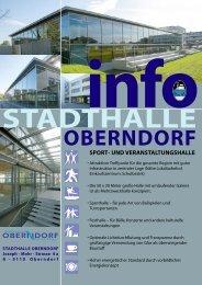 05_Stadthalle-Info_allgemein - Oberndorf bei Salzburg - Salzburg.at