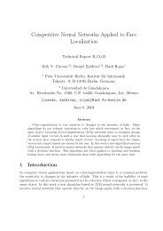 Competitive Neural Networks Applied to Face Localization - Freie ...